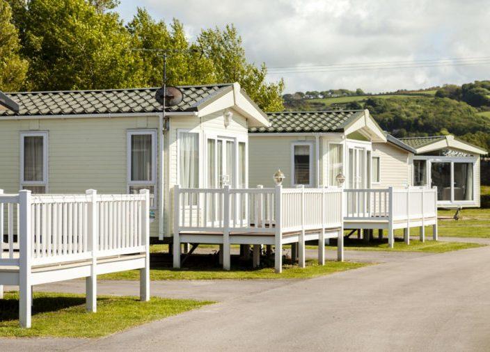 Static,Caravan,Holiday,Park,In,Prestatyn,,North,Wales,,United,Kingdom.